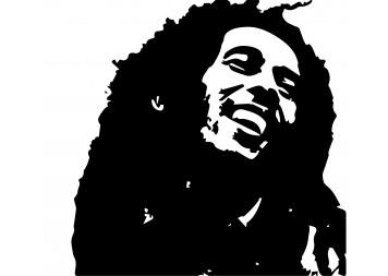 Create Bob Marley Wall Decals