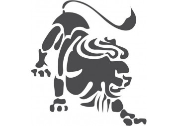 Black Lion Wall Decals