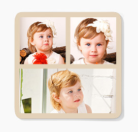 Three Photo Coasters