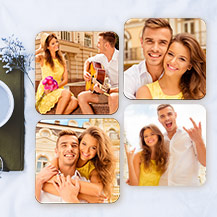 Pack of Four Photo Coasters
