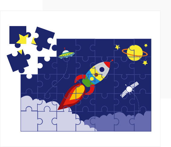 Make Kids the Star of their own Puzzle