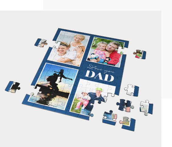 Make a Photo Jigsaw as a Collage
