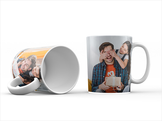 Customize your own photo mugs