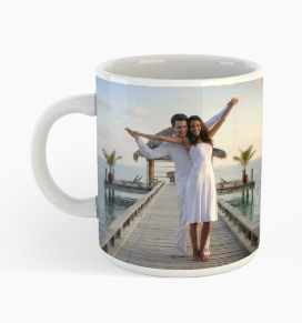 your personalised holiday photos on mug