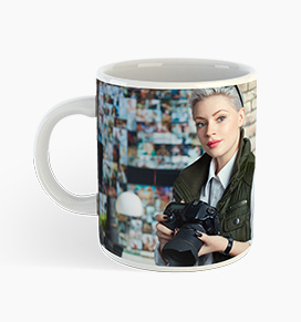your custom holiday photos on mug
