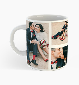 personalised photo collage mug