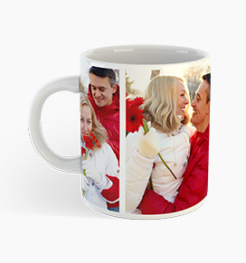 Personalised collage photo mugs