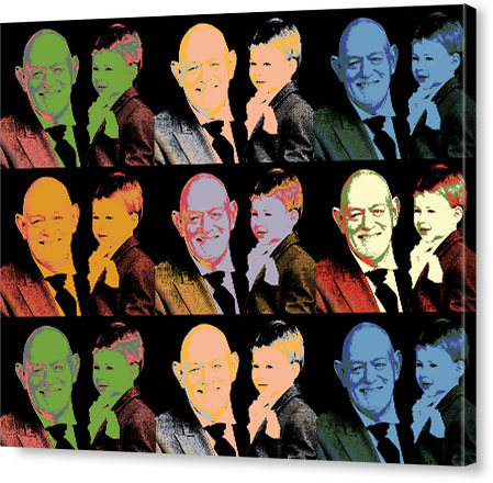 What We Offer in Pop Art Canvas Print