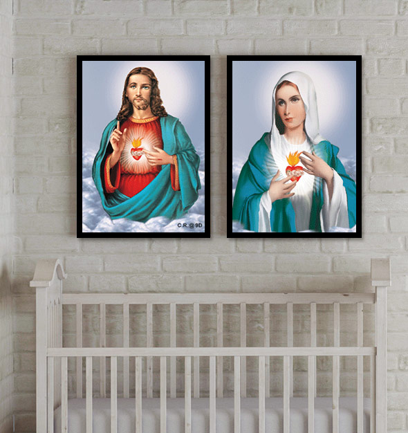 3D Jesus Picture Frame